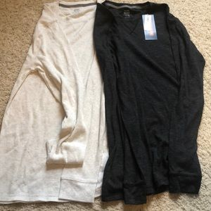 NWT Large TALL Old Navy shirts x 2